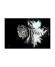 "Philippe Hugonnard Wild Explosion Collection - the Zebra II Canvas Art - 27"" x 33.5"""