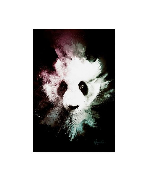 "Trademark Global Philippe Hugonnard Wild Explosion Collection - the Panda Canvas Art - 27"" x 33.5"""