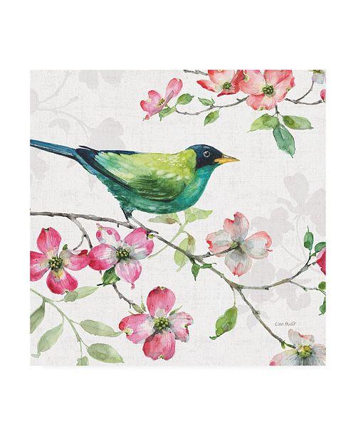 "Trademark Global Lisa Audit Dogwood Garden II Canvas Art - 19.5"" x 26"""