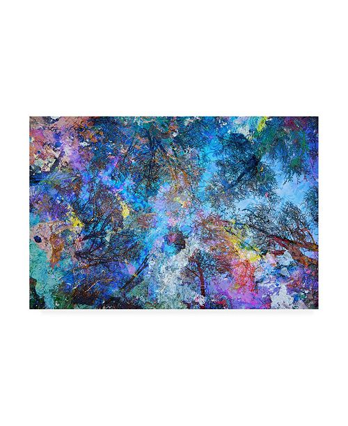 "Trademark Global Michael Broo Dreaming up to the Trees Canvas Art - 15.5"" x 21"""