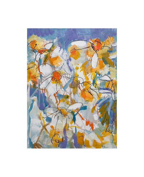 """Trademark Global Per Ander I'll Give You a Daisy a Day Canvas Art - 27"""" x 33.5"""""""