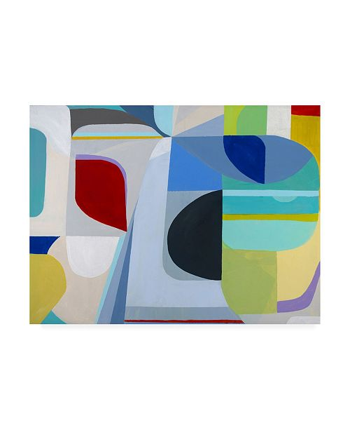 """Trademark Global Marion Gries Into the Sky of this Canvas Art - 15.5"""" x 21"""""""