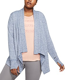 Plus Size Yoga Long-Sleeve Top