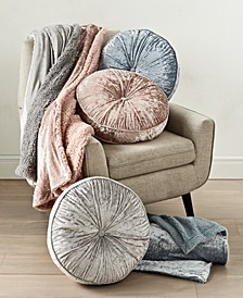 CLOSEOUT! Velvet Decorative Pillows and Throws