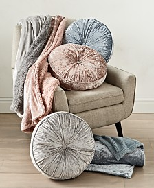 Whim by Martha Stewart Collection Velvet Decorative Pillows and Throws