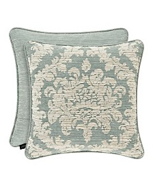 "Versailles Spa 20"" Square Decorative Throw Pillow"