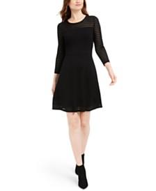 Calvin Klein Illusion Sweater Dress