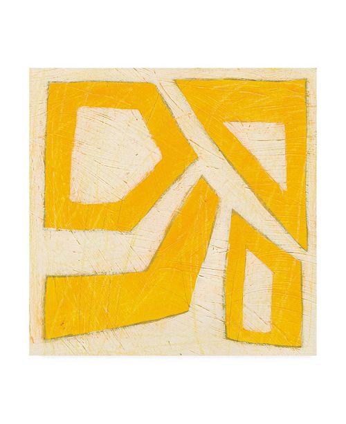 "Trademark Global June Erica Vess Spectrum Hieroglyph VIII Canvas Art - 27"" x 33"""