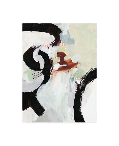 "Trademark Global Victoria Borges Synchronal V Canvas Art - 37"" x 49"""