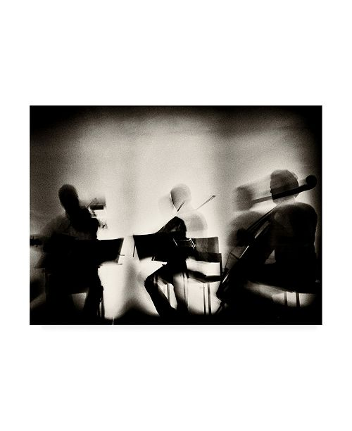 "Trademark Global Mirela Momanu Waves of Music Canvas Art - 37"" x 49"""