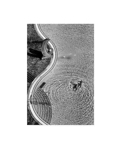 "Trademark Global Jure Kravanja Swimming Pool Photograph Canvas Art - 20"" x 25"""