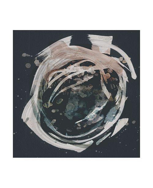 "Trademark Global Victoria Borges Molten Orbit II Canvas Art - 27"" x 33"""