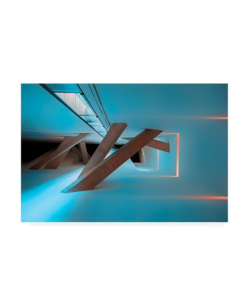 "Trademark Global Jure Kravanja Transition Architecture Canvas Art - 37"" x 49"""