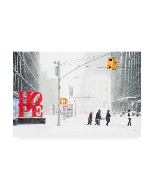"""Trademark Global R Teneyck Hope New York Canvas Art - 20"""" x 25"""""""