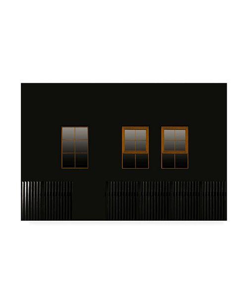 "Trademark Global Inge Schuster Windows in the Dark Canvas Art - 20"" x 25"""