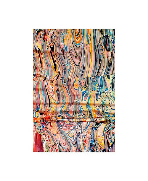 "Trademark Global Mark Lovejoy Abstract Splatters Lovejoy 22 Canvas Art - 20"" x 25"""