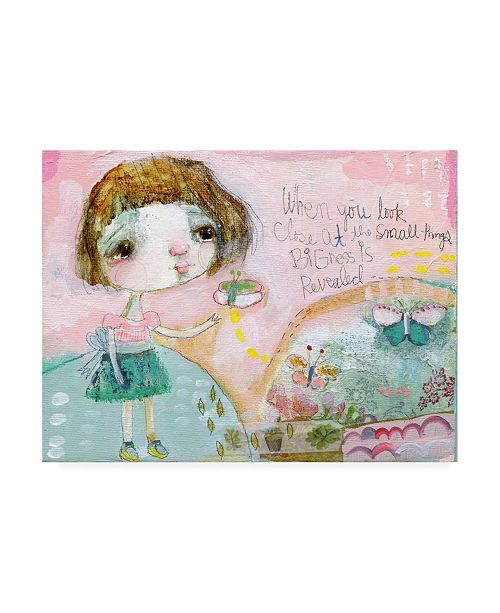 """Trademark Global Mindy Lacefield Butterfly Hill Canvas Art - 20"""" x 25"""""""