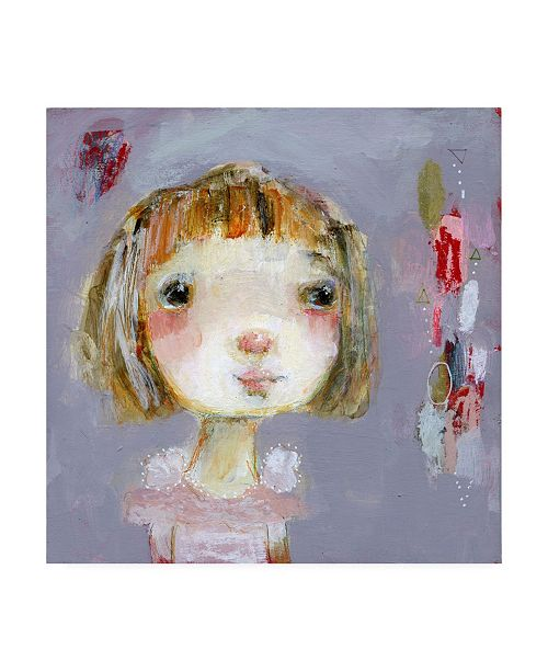 """Trademark Global Mindy Lacefield Hope on Gray Canvas Art - 20"""" x 25"""""""