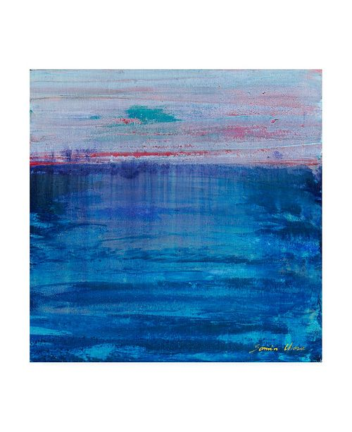 "Trademark Global Masters Fine Art Sunset Abstract Canvas Art - 15"" x 20"""