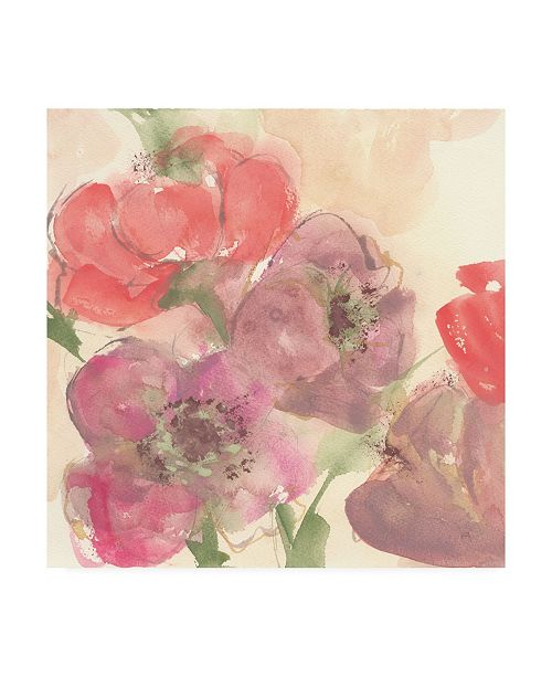 "Trademark Global Chris Paschke Coral Blooms II Canvas Art - 15"" x 20"""