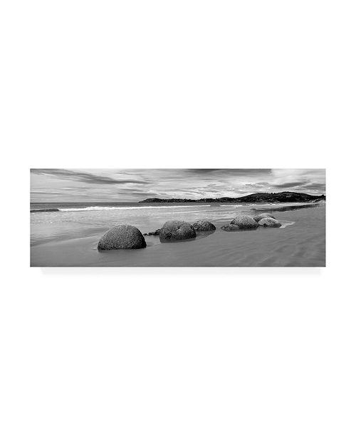 "Trademark Global Monte Nagler Moeraki Boulders on Beach Canvas Art - 20"" x 25"""