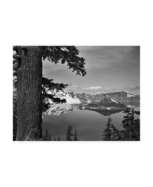 "Trademark Global Monte Nagler Crater Lake Canvas Art - 37"" x 49"""
