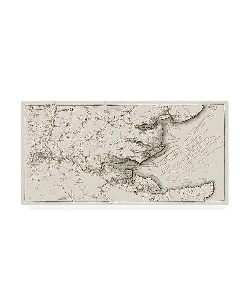 """Trademark Global Joseph Stadler River Thames II Canvas Art - 15"""" x 20"""""""