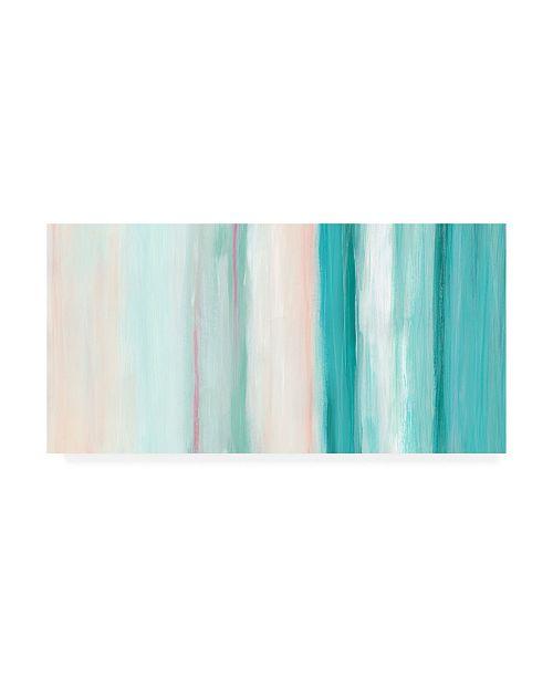 "Trademark Global June Erica Vess Seafoam Spectrum II Canvas Art - 37"" x 49"""