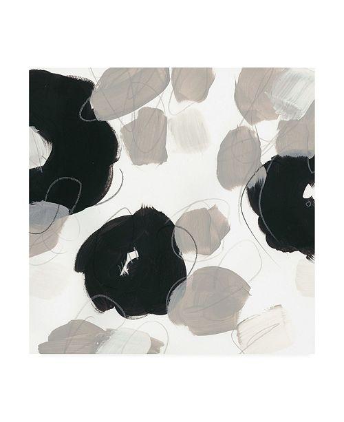 "Trademark Global June Erica Vess Kinetic Flora III Canvas Art - 27"" x 33"""