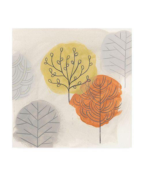 "Trademark Global June Erica Vess Forest Treasure II Canvas Art - 15"" x 20"""