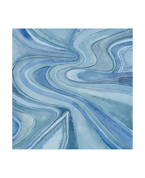 "Trademark Global Megan Meagher Pastel Agate I Canvas Art - 27"" x 33"""