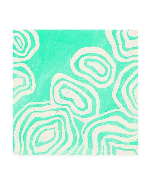 "Trademark Global June Erica Vess Bright Mineral I Canvas Art - 27"" x 33"""