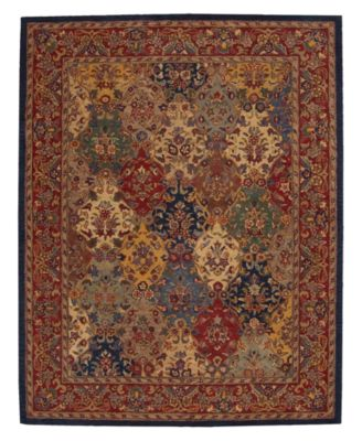 nourison rugs india house ih23 panel multi color - Nourison Rugs