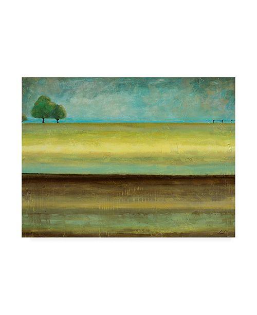 "Trademark Global Pablo Esteban Singled Trees Painted 1 Canvas Art - 36.5"" x 48"""