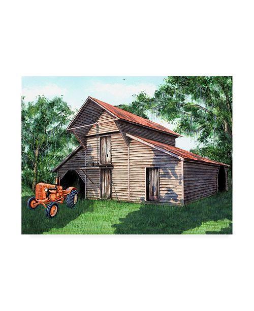 "Trademark Global Patrick Sullivan Barn 2016 Canvas Art - 15.5"" x 21"""