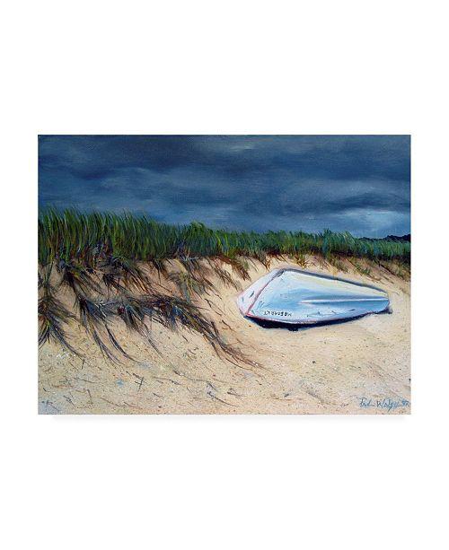 "Trademark Global Paul Walsh Cape Cod Boat Canvas Art - 27"" x 33.5"""