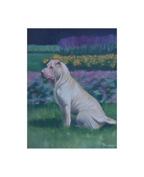 "Trademark Global Paul Walsh Dog Pet Canvas Art - 27"" x 33.5"""