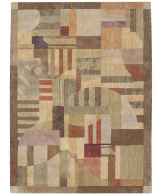 "CLOSEOUT! Area Rug, Somerset ST22 Clarkstown Multi 7' 9"" x 10' 10"""