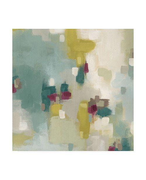 "Trademark Global June Erica Vess Harbor Lights I Canvas Art - 36.5"" x 48"""