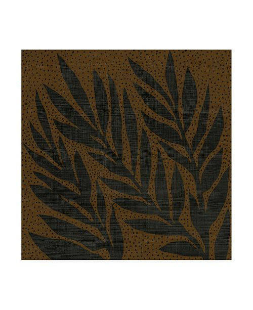 "Trademark Global Chariklia Zarris Cacao VII Canvas Art - 36.5"" x 48"""