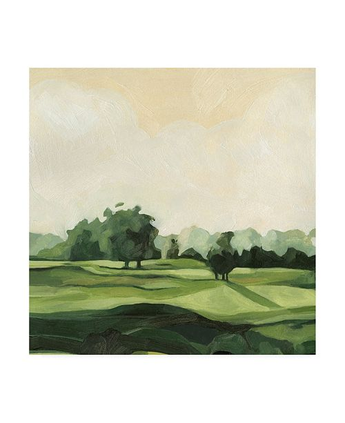 "Trademark Global Emma Scarvey Olive Afternoon II Canvas Art - 36.5"" x 48"""