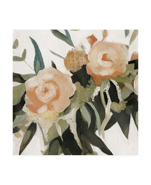 "Trademark Global Emma Scarvey Floral Disarray III Canvas Art - 15.5"" x 21"""