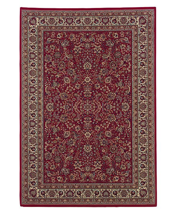 "Oriental Weavers Area Rug, Ariana Red Sarouk 113R 10' x 12' 7"""