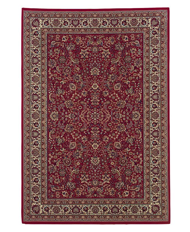 "Oriental Weavers ""Ariana"" Red Sarouk 113R Area Rug, Runner"
