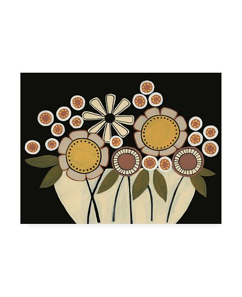 "Trademark Global Regina Moore Summer Garden Floral I Canvas Art - 19.5"" x 26"""