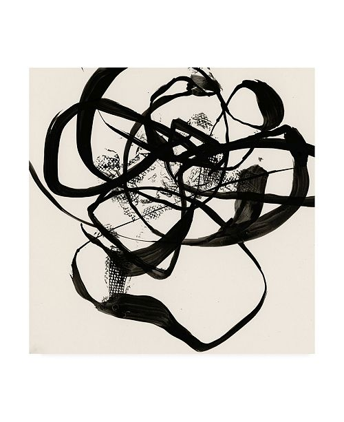 "Trademark Global Jennifer Goldberger Sumi E Abstract I Canvas Art - 15.5"" x 21"""