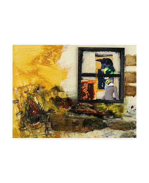 "Trademark Global Michel Keck Nevermore Abstract Canvas Art - 36.5"" x 48"""