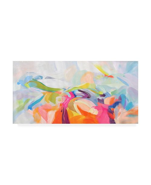 "Trademark Global Irena Orlov Dynamic Perseverance Canvas Art - 19.5"" x 26"""