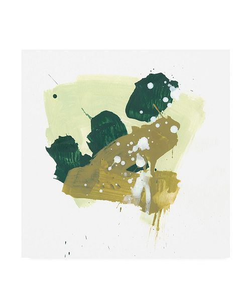"Trademark Global June Erica Vess Midori VII Canvas Art - 36.5"" x 48"""