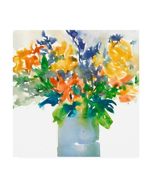 "Trademark Global Samuel Dixon Garden Elements I Canvas Art - 15.5"" x 21"""
